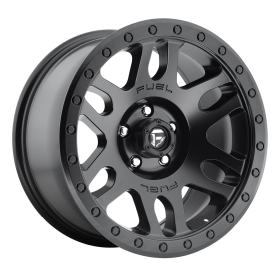 Fuel Custom Wheels RECOIL D584 MATTE BLACK