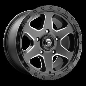 Fuel Custom Wheels RIPPER D590 GLOSS BLACK MILLED