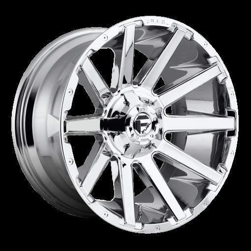 Fuel Custom Wheels CONTRA D614 CHROME