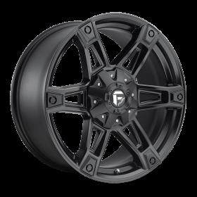 Fuel Custom Wheels D624 DAKAR MATTE BLACK