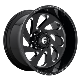 D637 VORTEX GLOSS BLACK MILLED