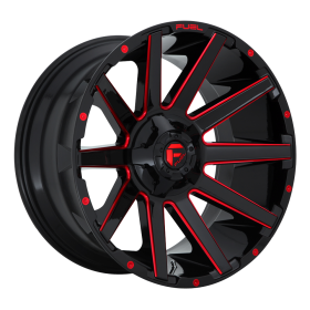 D643 CONTRA GLOSS BLACK RED TINTED CLEAR