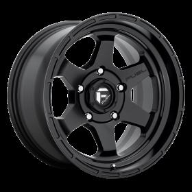 Fuel Custom Wheels SHOK D664 MATTE BLACK