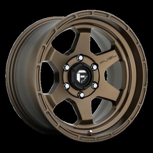 Fuel Custom Wheels SHOK D666 MATTE BRONZE