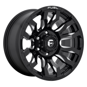 D673 BLITZ GLOSS BLACK MILLED