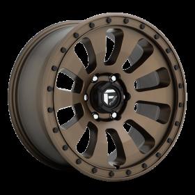 Fuel Custom Wheels TACTIC D678 MATTE BRONZE