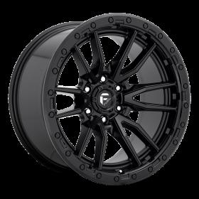 Fuel Custom Wheels REBEL D679 MATTE BLACK