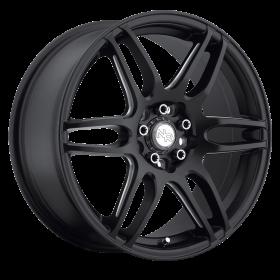 Niche Custom Wheels NR6 M106 BLACK MILLED