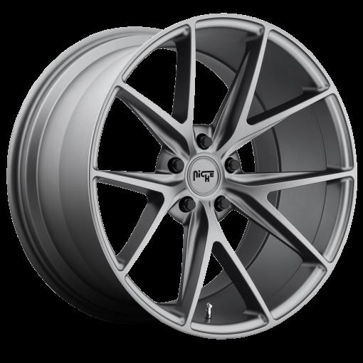 Niche Custom Wheels M116 MISANO MATTE GUNMETAL