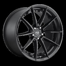 Niche Custom Wheels SECTOR M196 MATTE BLACK