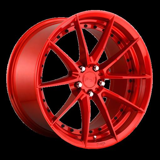 Niche Custom Wheels M213 SECTOR GLOSS RED