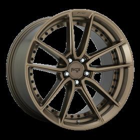 Niche Custom Wheels DFS M222 MATTE BRONZE