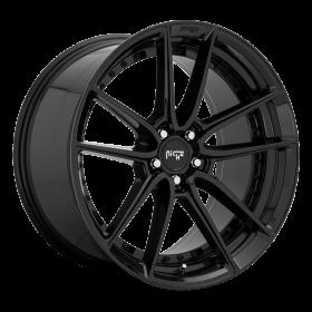 Niche Custom Wheels DFS M223 GLOSS BLACK