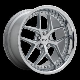 Niche Custom Wheels VICE M225 MATTE SILVER