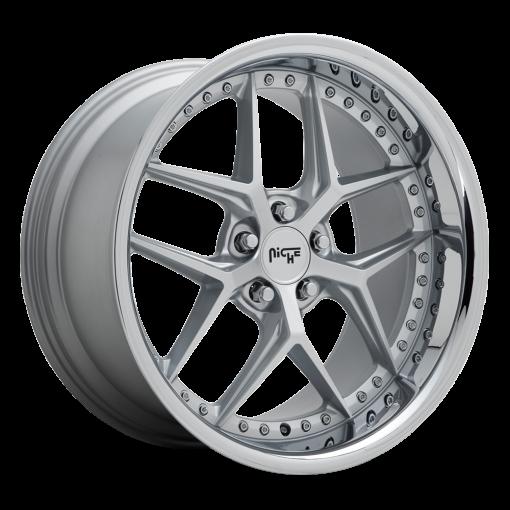 Niche Custom Wheels M225 VICE MATTE SILVER