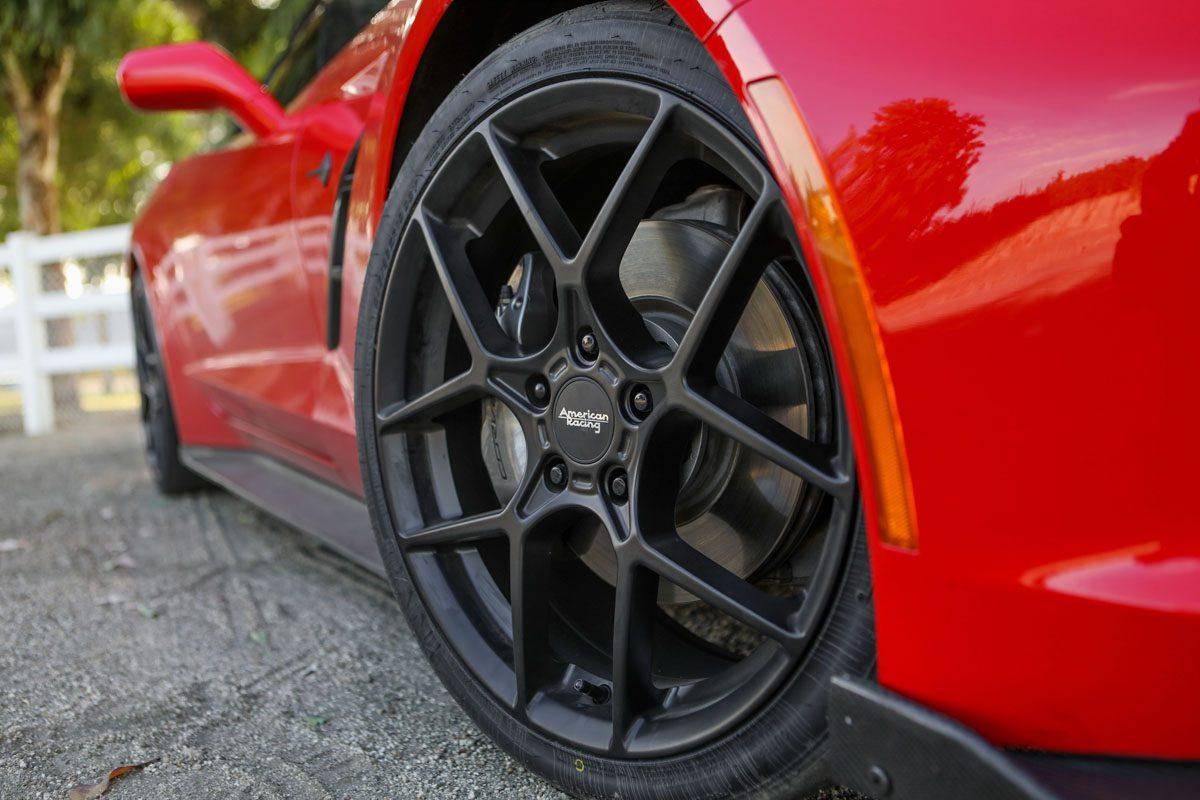 Chevrolet Corvette Stingray with American Racing AR924 Wheels