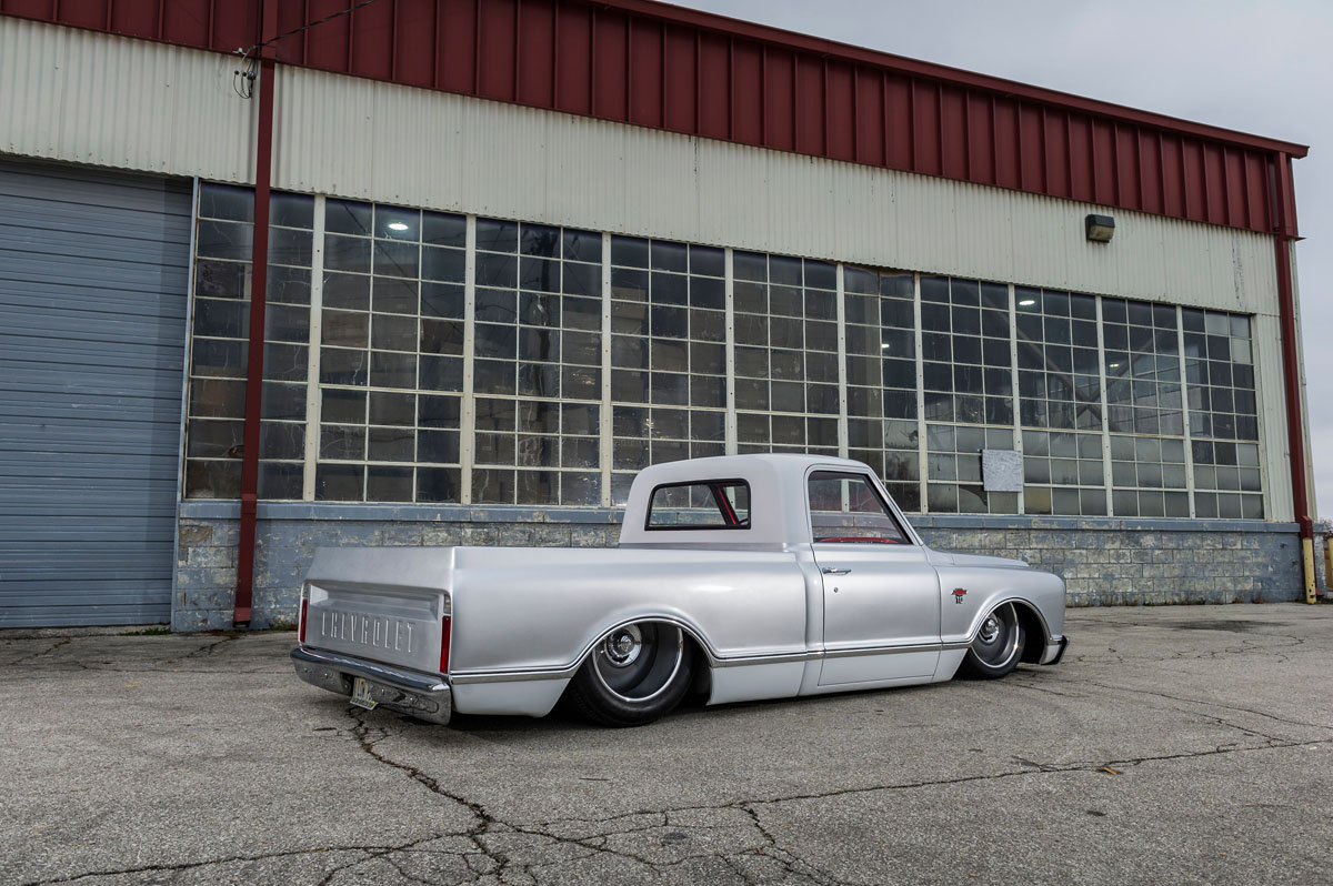 Chevy C10 with American Racing VF509 Wheels