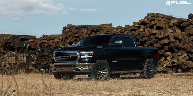 Dodge Ram 1500 with Fuel Blitz – D674 wheels