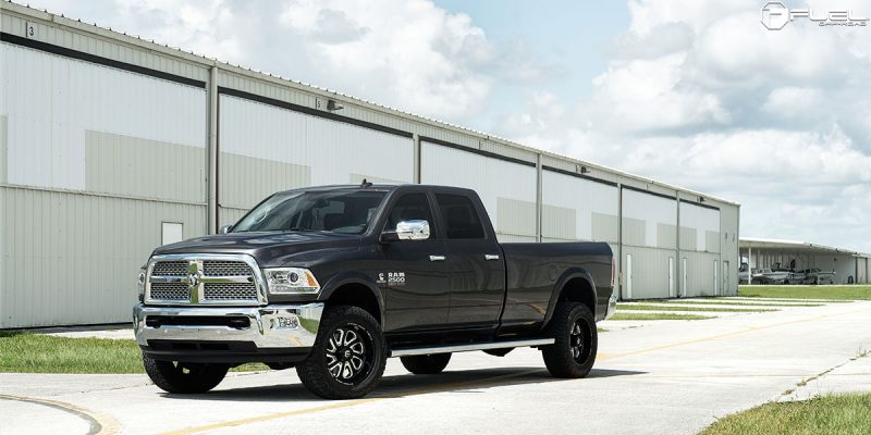 Dodge Ram 2500 20x10 Fuel Flow 8 D587 Wheels