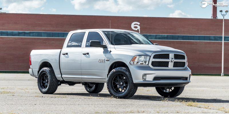 Dodge Ram 1500 20x10 Fuel Tech D670 Wheels
