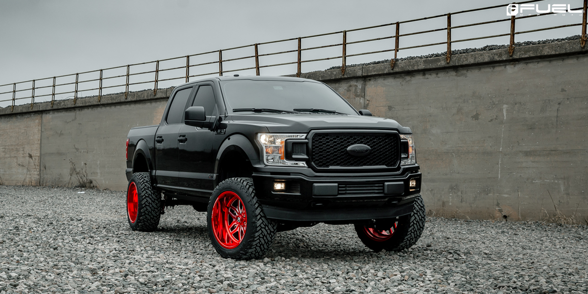 Ford F-150 Fuel FF66 Wheels