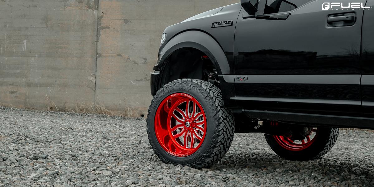 Ford F-150 Fuel FF66 Wheels