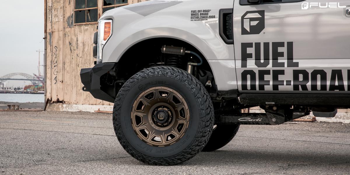 Ford F-250 Super Duty Fuel Vengeance - D687 Wheels