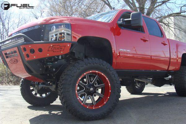 Chevrolet Silverado 2500 22x12 Fuel Maverick D262 Wheels