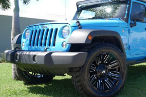 Jeep Wrangler Fuel Schism - D649 Wheels