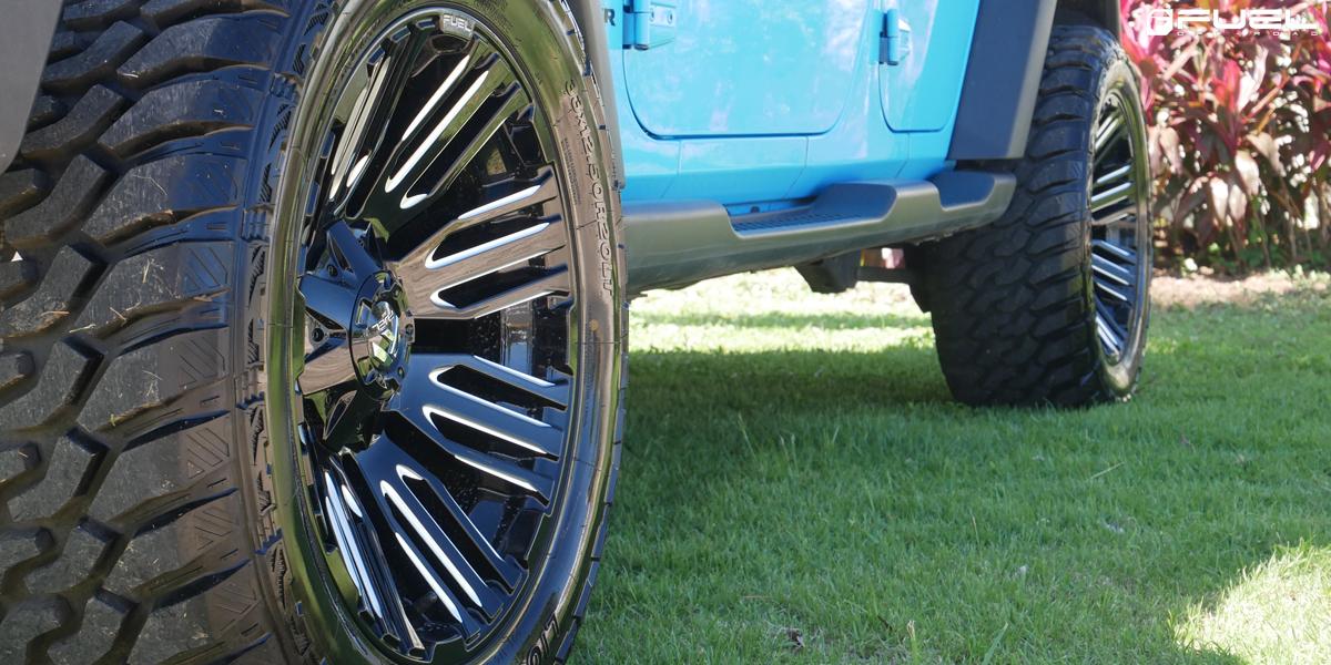 Jeep Wrangler Fuel Schism - D649 Wheels