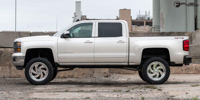Chevrolet Silverado 1500 22x10 Fuel FF10 Wheels
