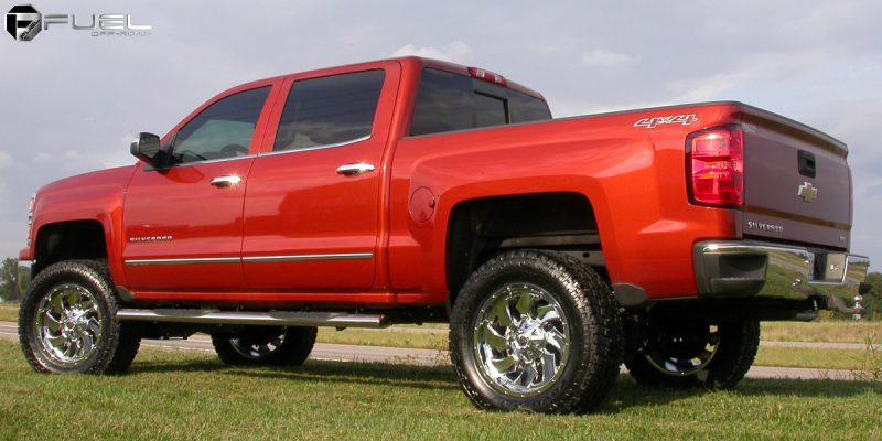 Chevrolet Silverado 1500 20x9 Fuel Cleaver D573 Wheels