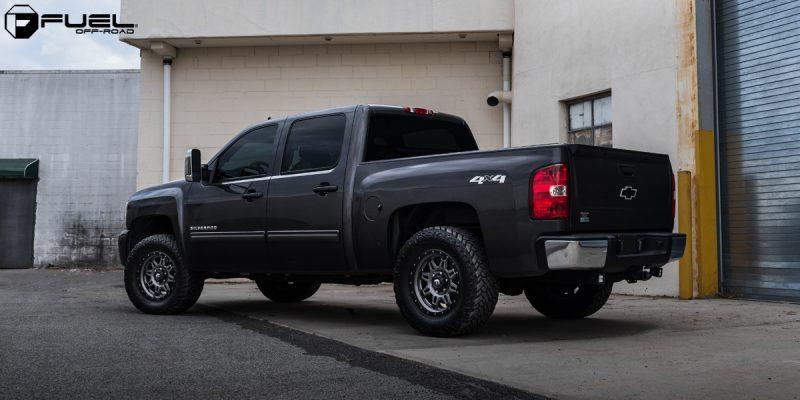 Chevrolet Silverado 1500 18x9 Fuel Hostage III D568 Wheels