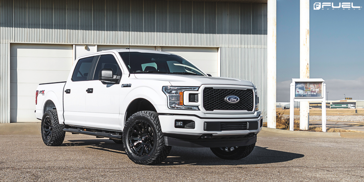 Ford F-150 20x9 Fuel Blitz D675 Wheels