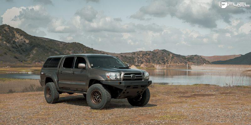 Toyota Tacoma 17x9 Fuel Nitro D669 Wheels