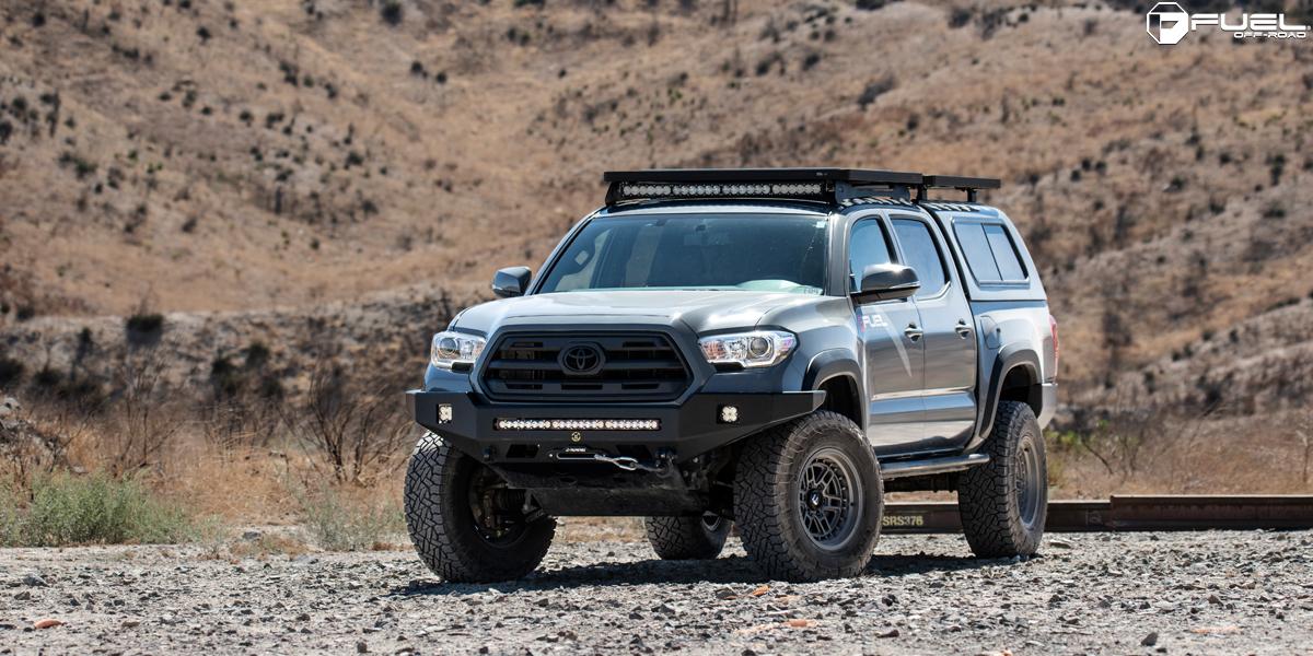 Toyota Tacoma 17x9 Fuel Nitro D668 Wheels