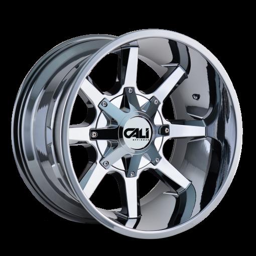 Cali Offroad Custom Wheels BUSTED CHROME