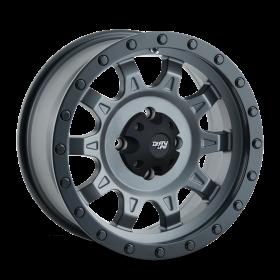 Dirty Life Custom Wheels ROADKILL MATTE GUNMETAL BLACK