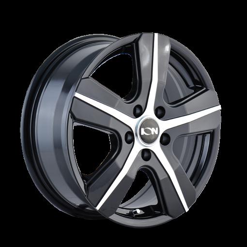 ION Custom Wheels 101 GLOSS BLACK MACHINED