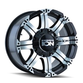 ION Custom Wheels 187 MACHINED BLACK