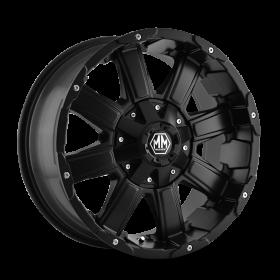 Mayhem Custom Wheels CHAOS MATTE BLACK
