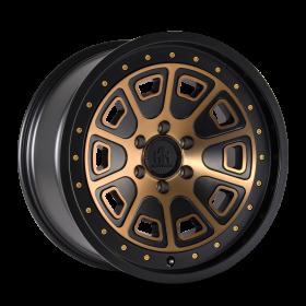 Mayhem Custom Wheels FLAT IRON MATTE BLACK BRONZE