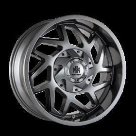Mayhem Custom Wheels HATCHET GLOSS GUNMETAL BLACK