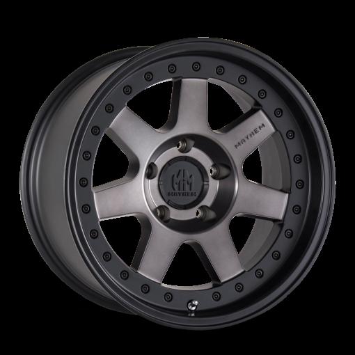 Mayhem Custom Wheels PRODIGY MATTE BLACK TINTED