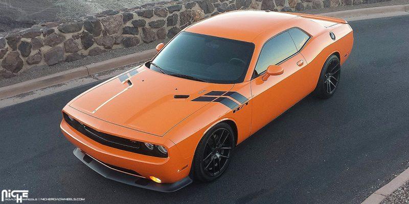 Dodge Challenger 20x8.5 Niche Targa M130 Wheels