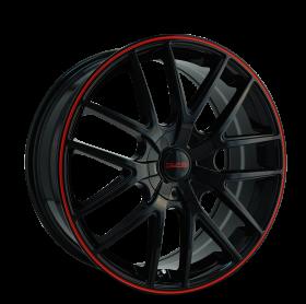 Touren Wheels TR60 BLACK/RED RING