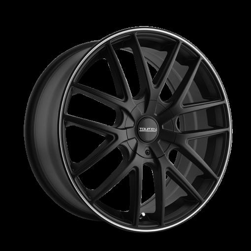 Touren Wheels TR60 MATTE BLACK MACHINED RING