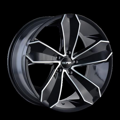 Touren Wheels TR71 GLOSS BLACK MACHINED FACE