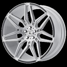 Asanti Black Custom Wheels ABL-11 SILVER CARBON