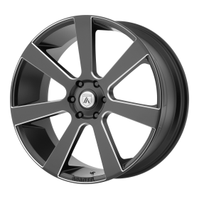Asanti Black Custom Wheels ABL-15 BLACK MILLED
